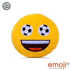 Football Eyes emoji® Brand Cushion | Official Licensed Product
