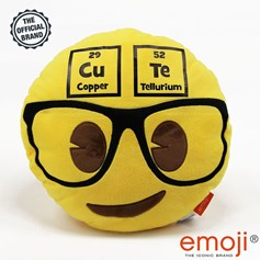 'CuTe' Geek Face emoji® Brand Cushion | Official Licensed Product