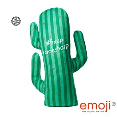 #fixuplooksharp emoji® Cactus Brand Cushion | Official Licensed Product