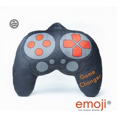 'Game Changer' emoji® Controller Brand Cushion | Official Licensed Product