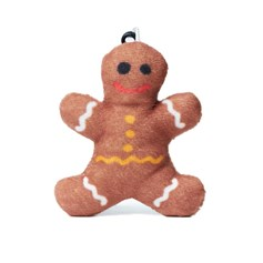 Ginger Bread emoji® Brand Keyring, a cute keychain and gift idea.