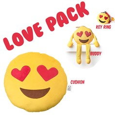 Heart Eyes emoji Cushion Pack | emoji® Cushion gift pack