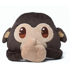 emoji® Monkey Cushion, the perfect children's cushion and gift idea.