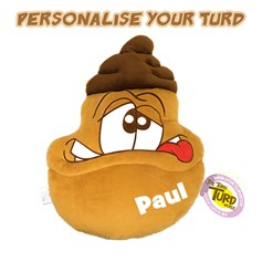 Personalised the Turds® Brains Cushion | the Turds® Cushion