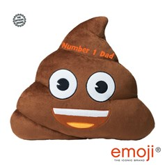 Poo emoji® Brand Cushion - Father's Day Gifts and Gifts for Dad