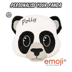 Personalised Panda emoji® Brand Cushion | Official Licensed Product