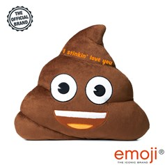 'I stinkin' love you' Poo emoji® Brand Cushion | Official Licensed Product
