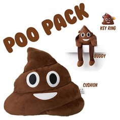 Poo emoji Cushions Pack | emoji® Cushion gift pack