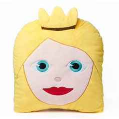 emoji® Princess Cushion, the perfect children's cushion and gift idea.