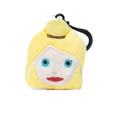 Princess emoji® Keyring, a cute keychain and gift idea.