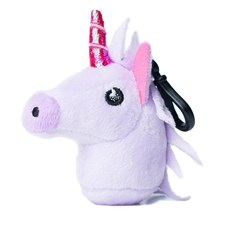 Unicorn emoji® Keyring, a cute keychain and gift idea.