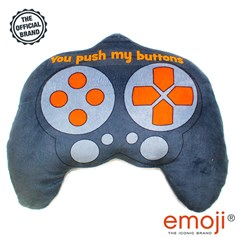 'You push my buttons' Controller emoji® Brand Cushion | Official Licensed Product