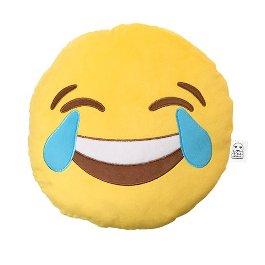 Crying With Laughter emoji Cushion