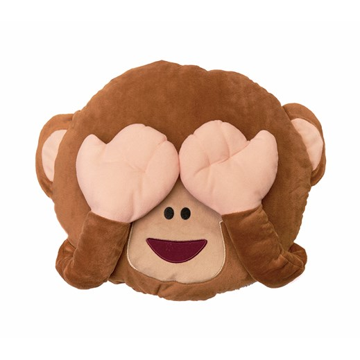 Monkey emoji Cushion