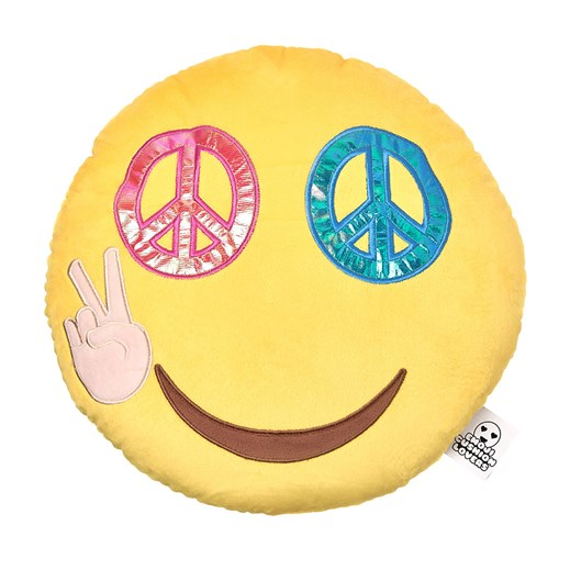 Peace emoji Cushion