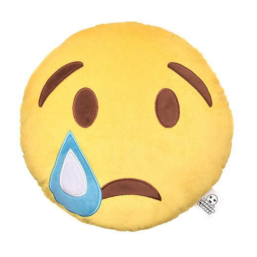 Sad Face emoji Cushion