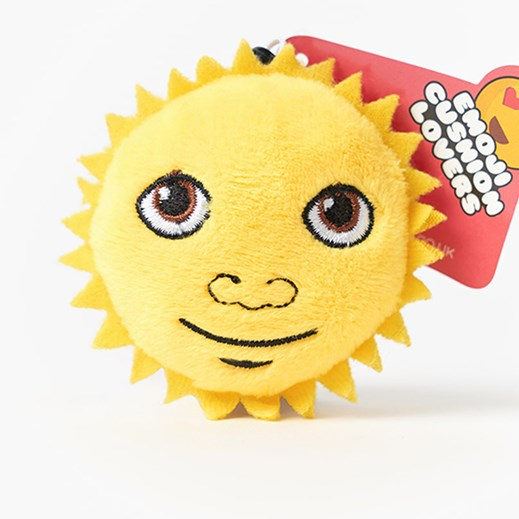 Sunshine emoji Key Ring