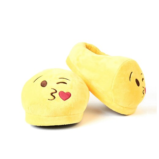 Blow a Kiss emoji Foot Cushion