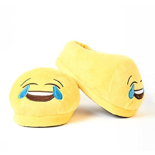 Crying with Laughter emoji Foot Cushion