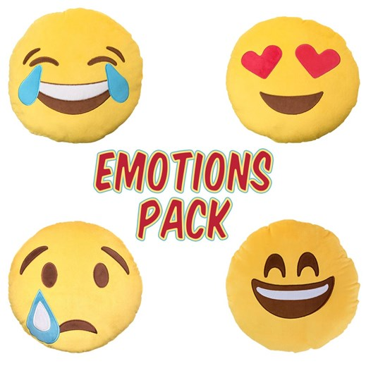 Emotions emoji Cushion Pack