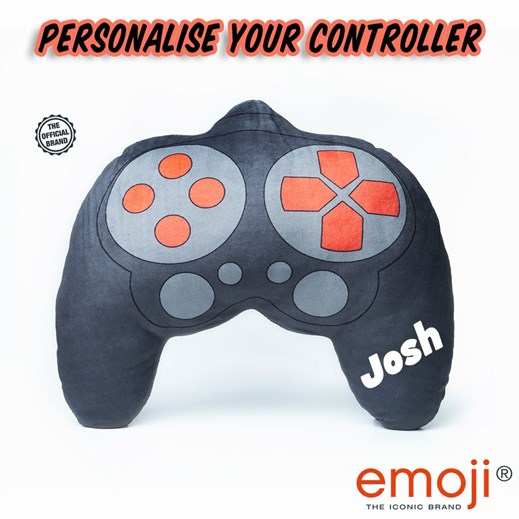 Personalised Controller emoji® Brand Cushion
