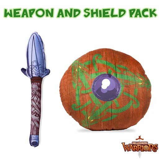 Viking Spear and Dragon Breath Pillowfight Warriors® Soft Play Pack