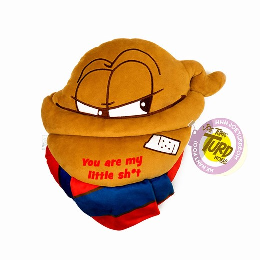 'You are my little sh*t' Little the Turds® Cushion