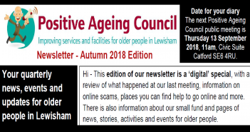 Autumn edition of the Positive Ageing Council newsletter is out NOW!