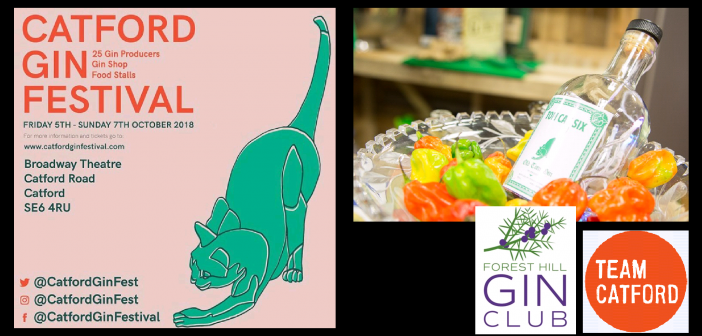 Catford Gin Festival is Back – get your tickets NOW!