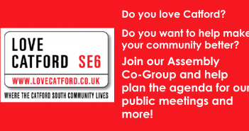Help decide the agenda for the Catford South Assembly meetings – Join our Co Group