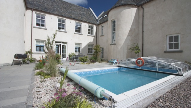 Stunning Architect Designed Classical Scottish Mansion, Pool and Hot Tub
