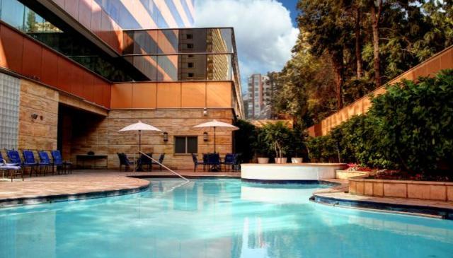 Beautiful 111m2 suite on 30th fl of the Santiago Marriott Hotel.