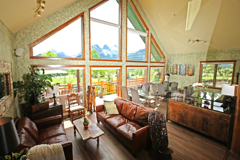 Large mountain home, run as B&B most of the year