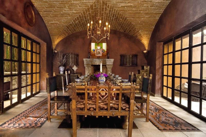 A unique castle-like home with astounding architectural & design detail