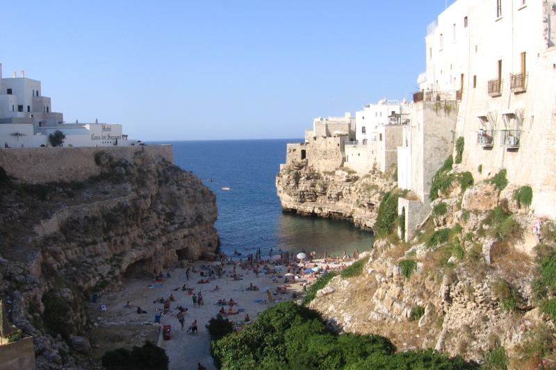 Casa vacanza al mare in italia polignano a mare apulia for Vacanza a manhattan