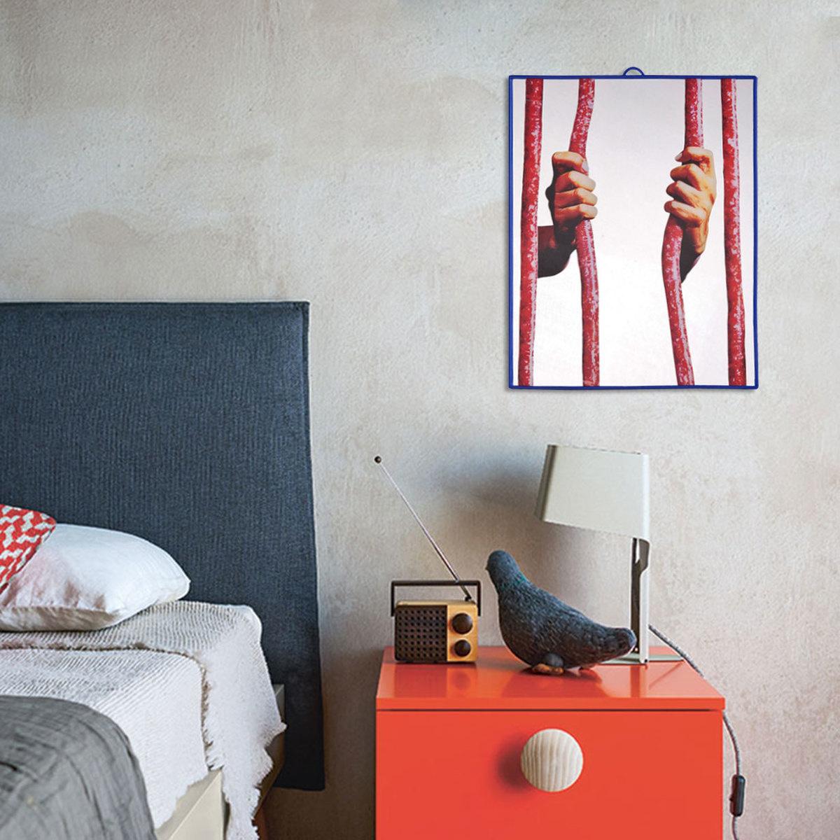 Specchio prigione 30x40 cm by seletti wears toiletpaper for 30x40 planimetrie della casa