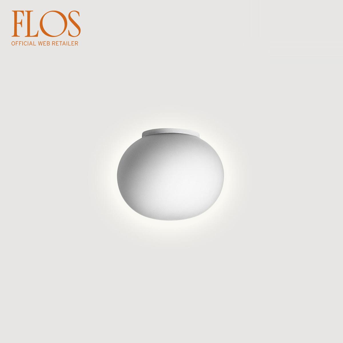 Lampada Da Parete Mini Glo Ball C W Per Specchio By Flos