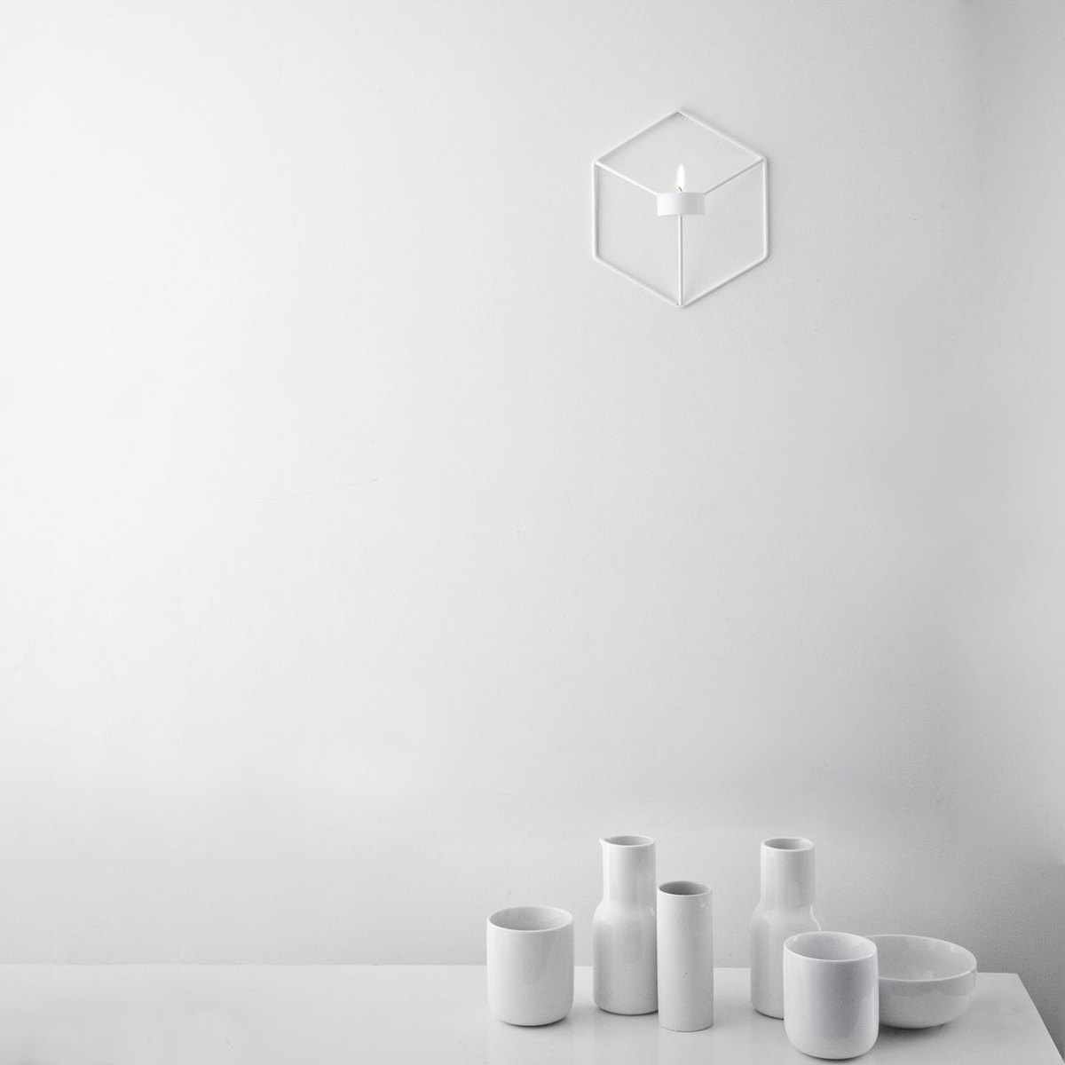 Porta candela pov da parete by menu lovethesign - Portacandele da parete ...