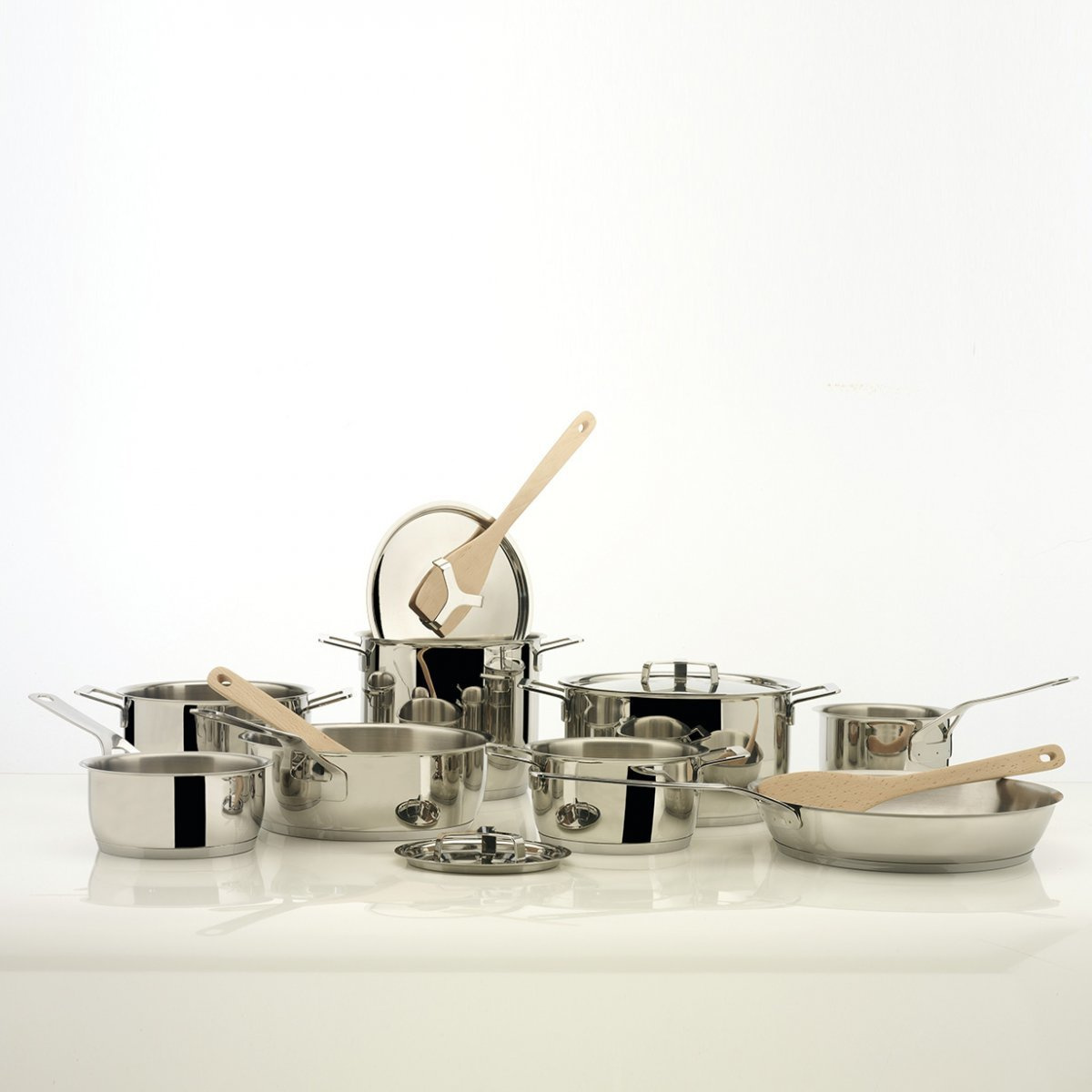 Casseruola a due manici Pots&Pans by Alessi | LOVEThESIGN