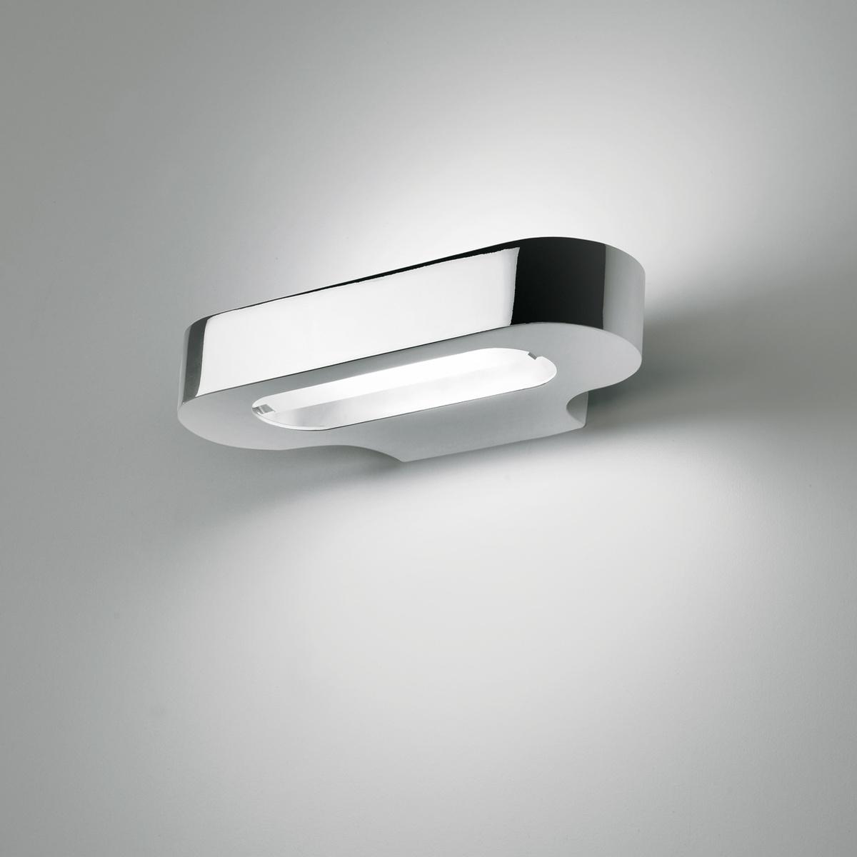 Lampada da parete e applique talo led cromo lucido by artemide lovethesign - Applique da parete led ...