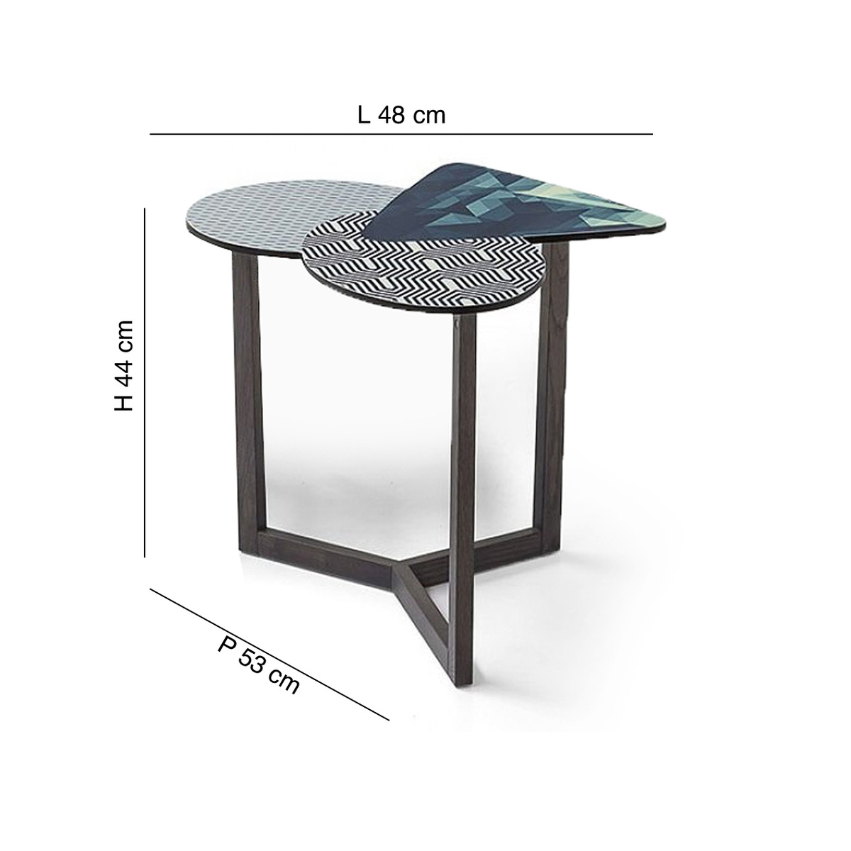 Doppler coffee table tall by bonaldo lovethesign - How tall should a coffee table be ...