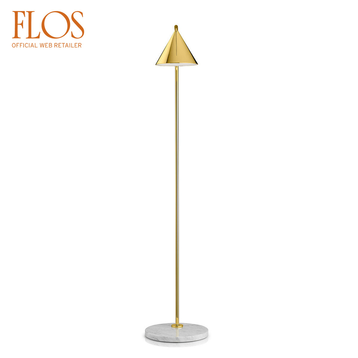 Lampada da terra Captain Flint by Flos | LOVEThESIGN