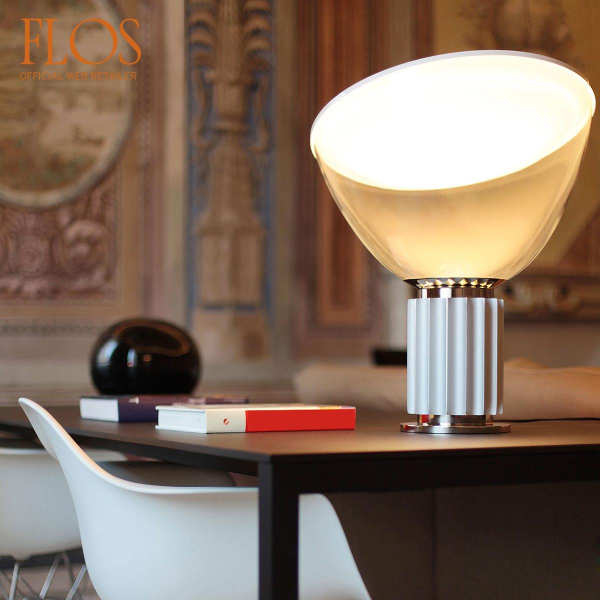 Lampada da tavolo taccia led by flos lovethesign - Lampada da tavolo a led ...