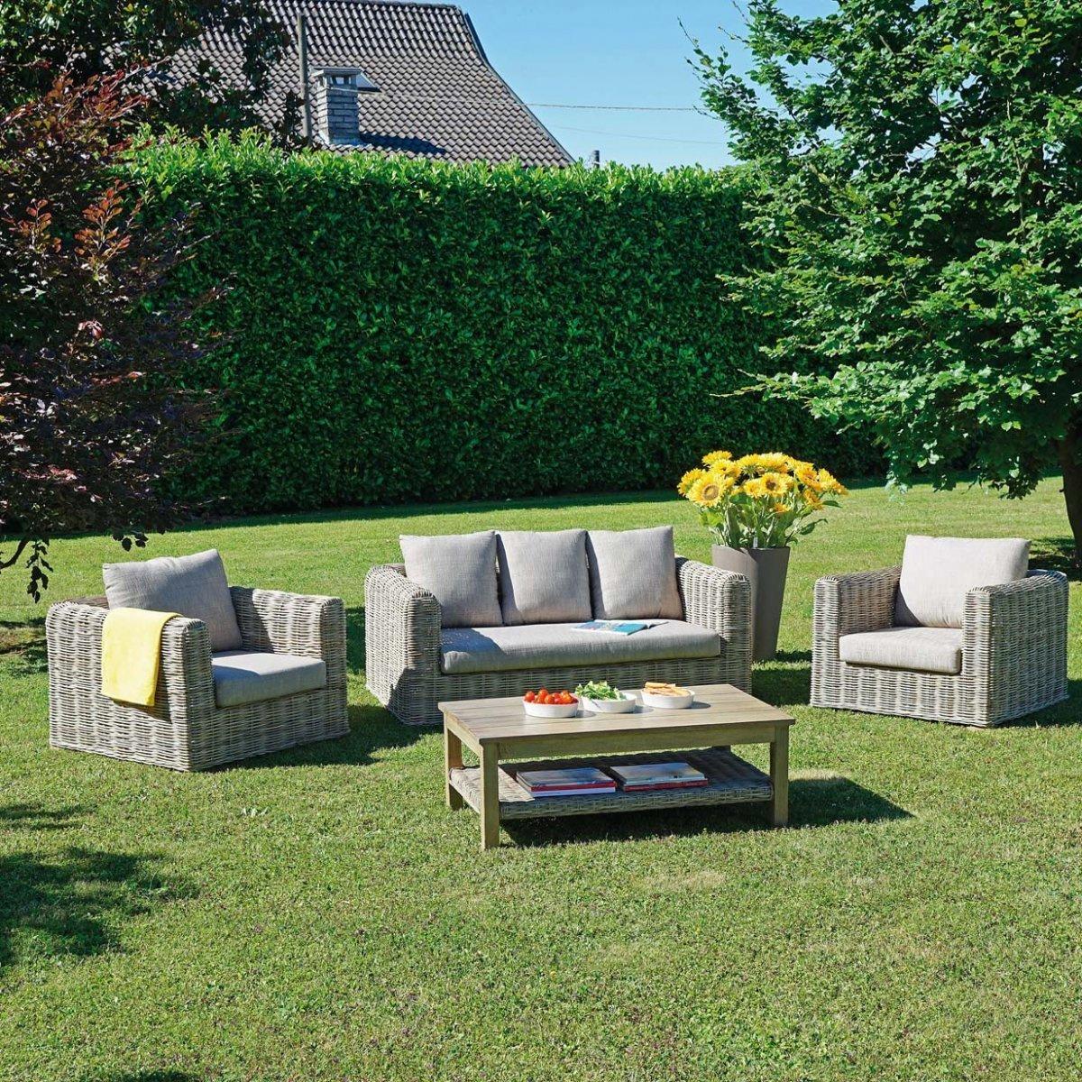 Salottino da giardino delhi by outdoor selection lovethesign for Outdoor giardino