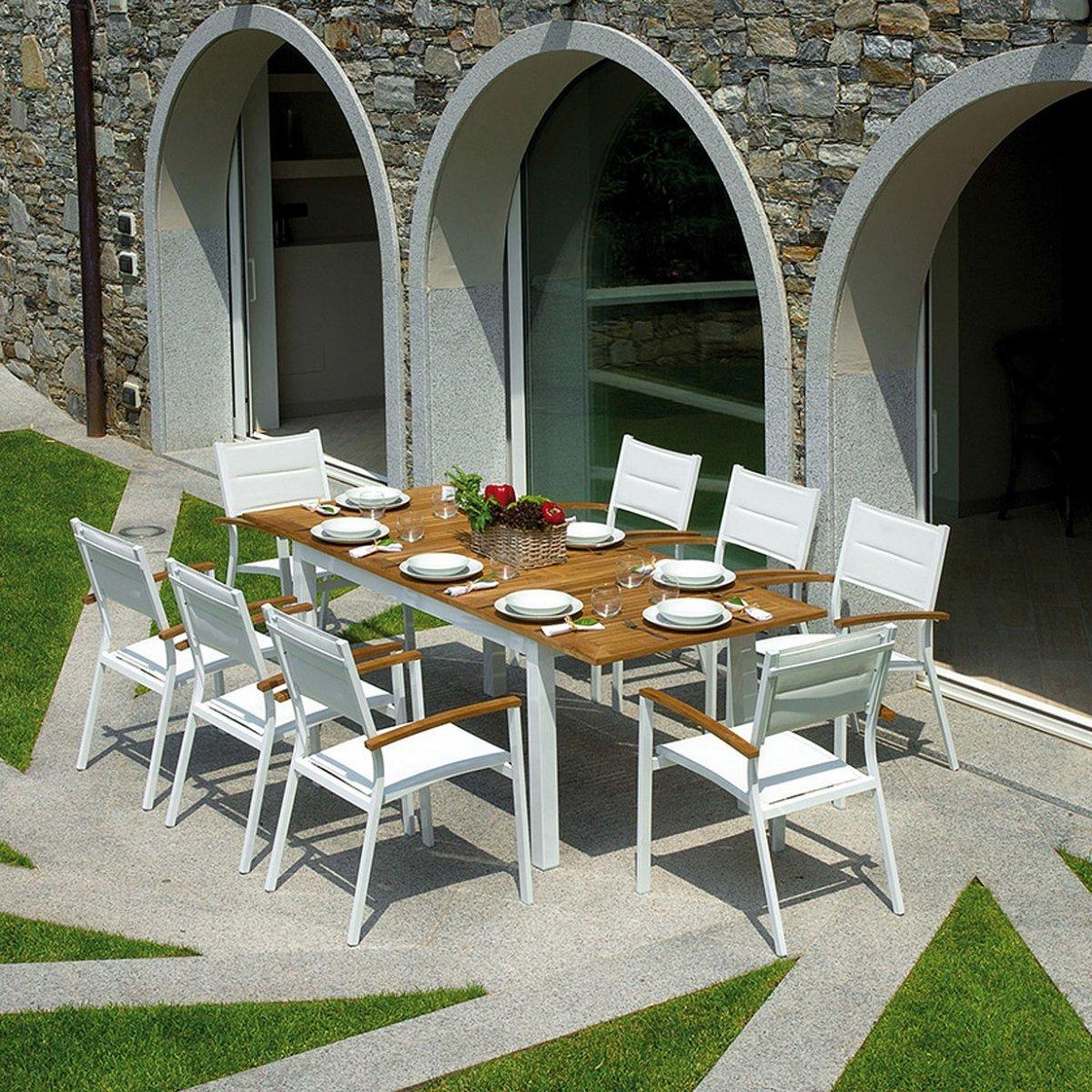 Greenwood Tavoli Da Giardino.Tavolo Da Giardino Ajaccio By Outdoor Selection Lovethesign