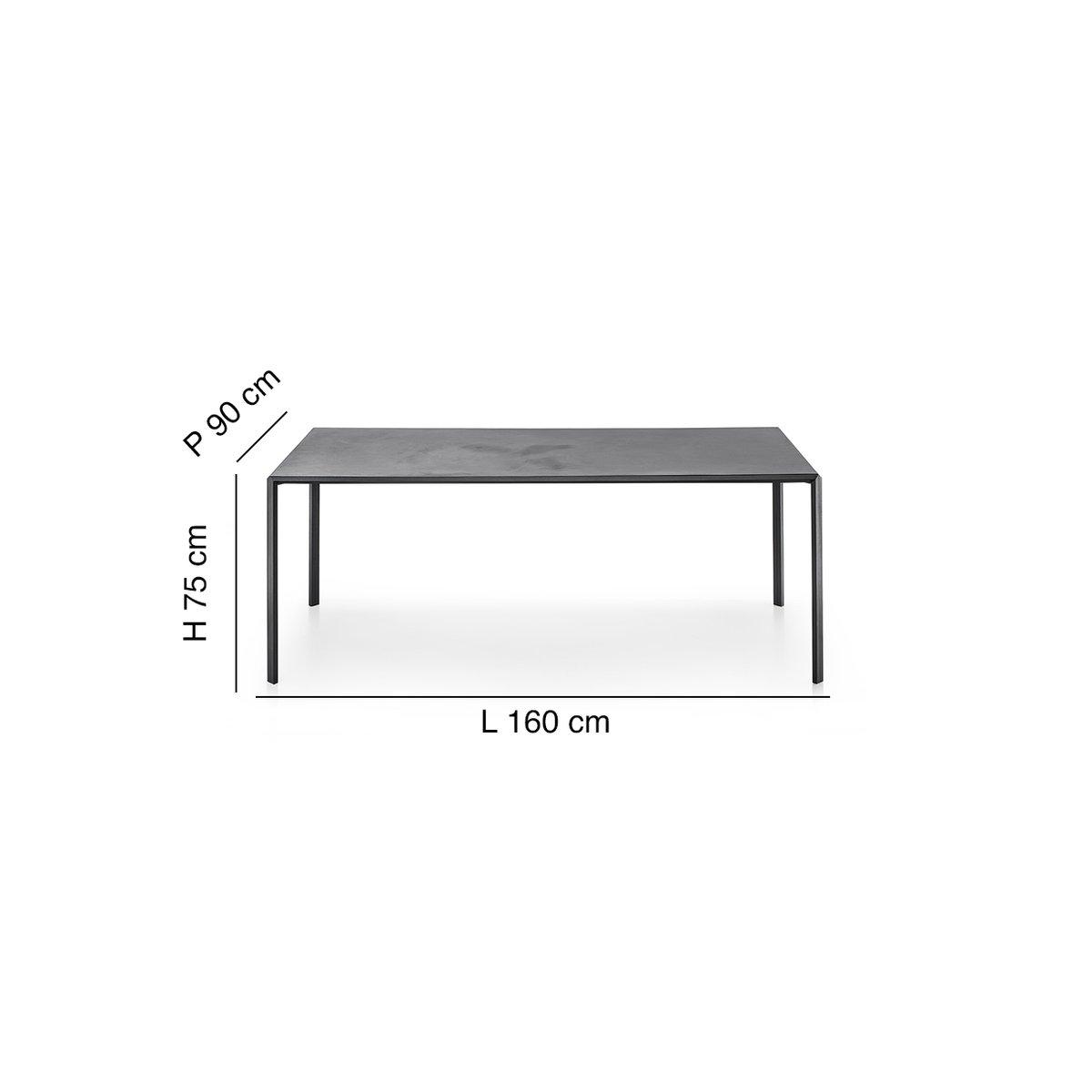 Tavolo rettangolare dueperdue 90x160 by infiniti design for Tavolo rettangolare design