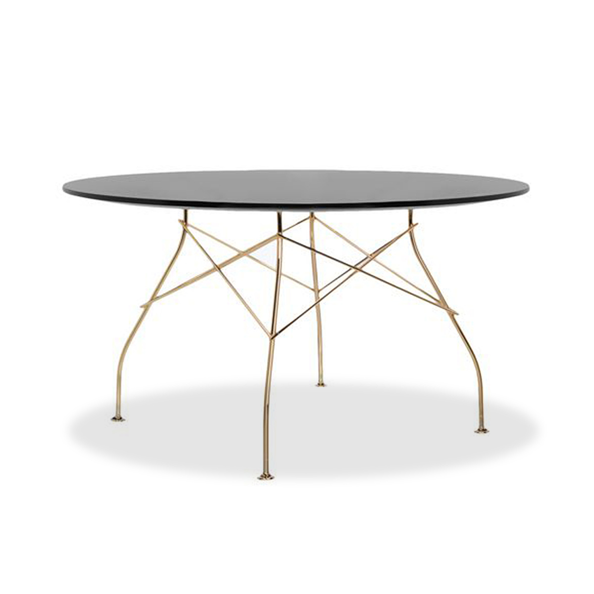 Tavoli Da Pranzo Kartell.Tavolo Rotondo Glossy By Kartell Lovethesign