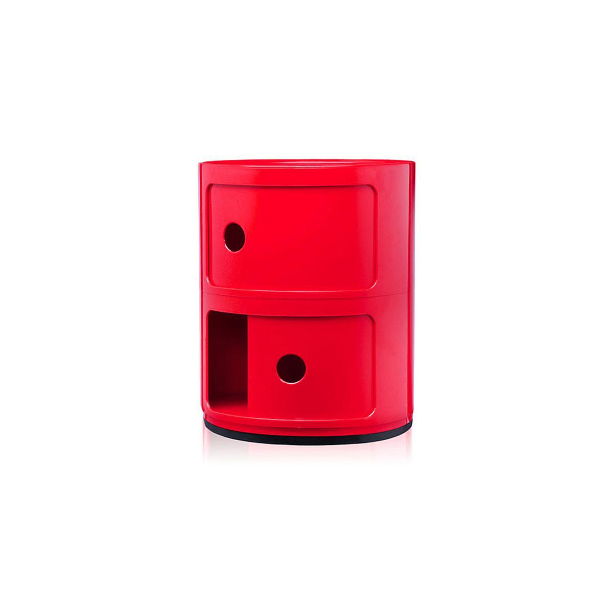 Mobile contenitore 2 elementi componibile by kartell - Contenitori bagno kartell ...