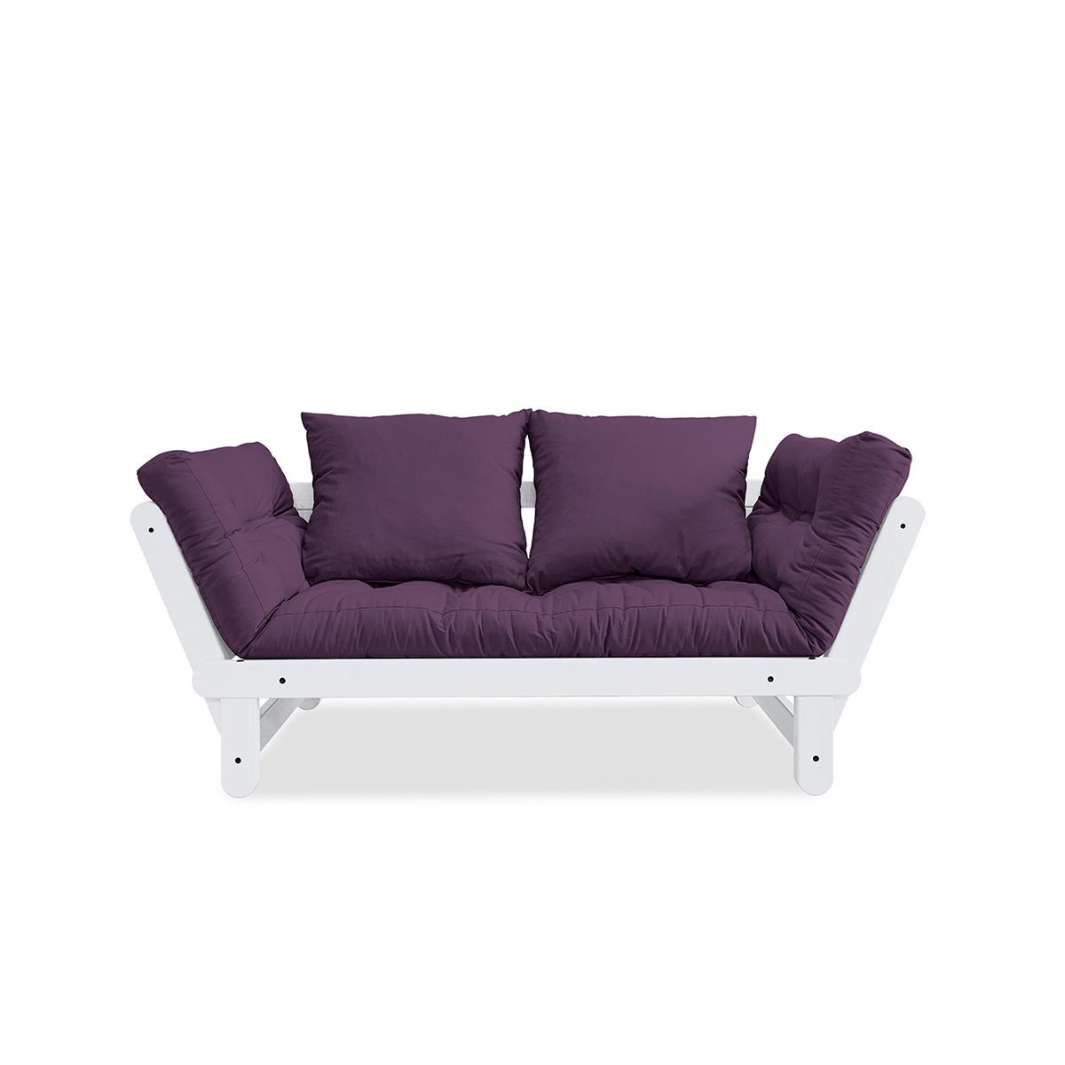 Divano letto beat con struttura bianca by karup lovethesign - Struttura divano letto ...