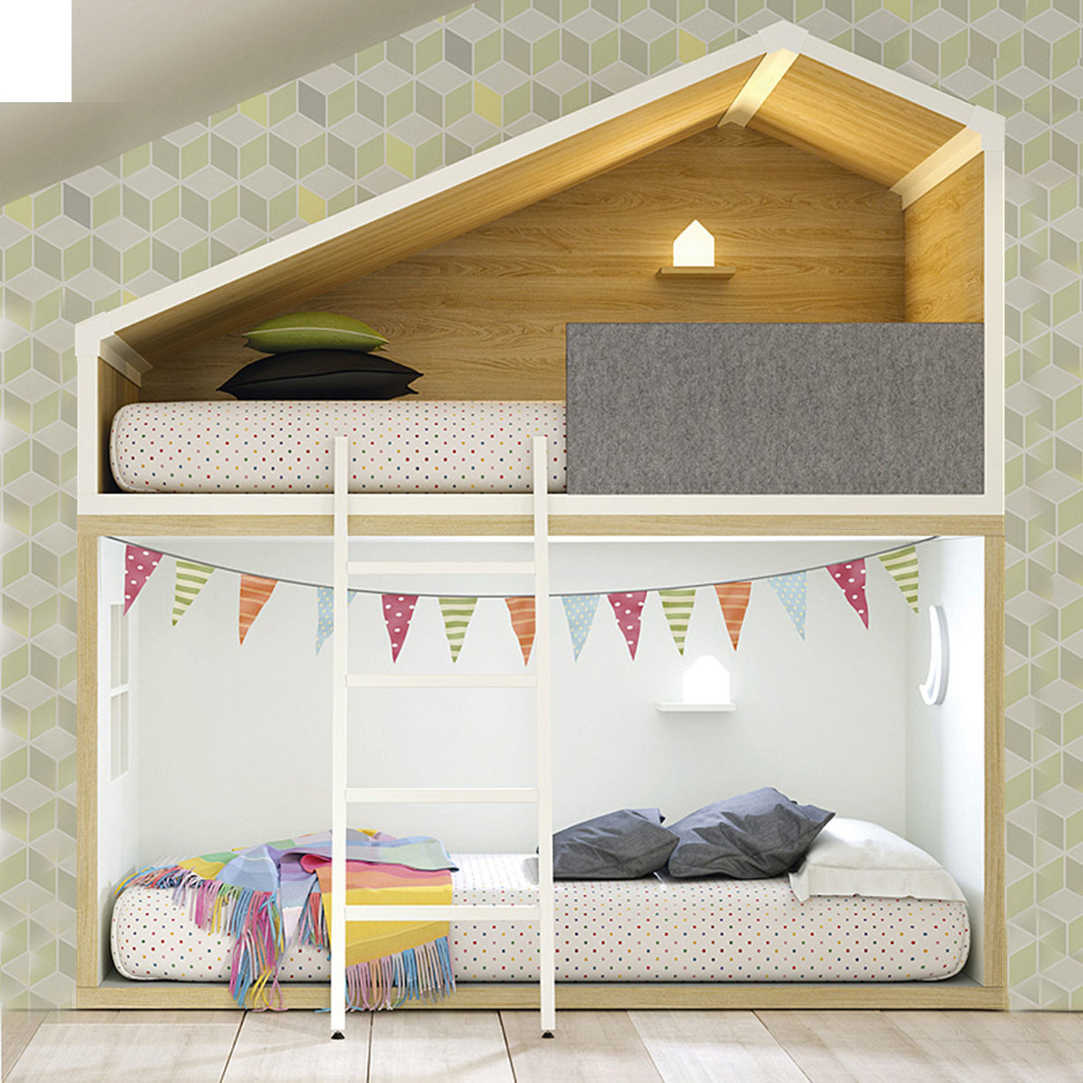 Cottage Bunk Bed By Lagrama Lovethesign